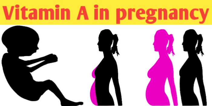 Vitamin A in pregnancy and food supplement requirement