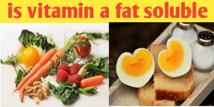 Is vitamin a fat soluble or water soluble : A, D, E, K ,C and B complex