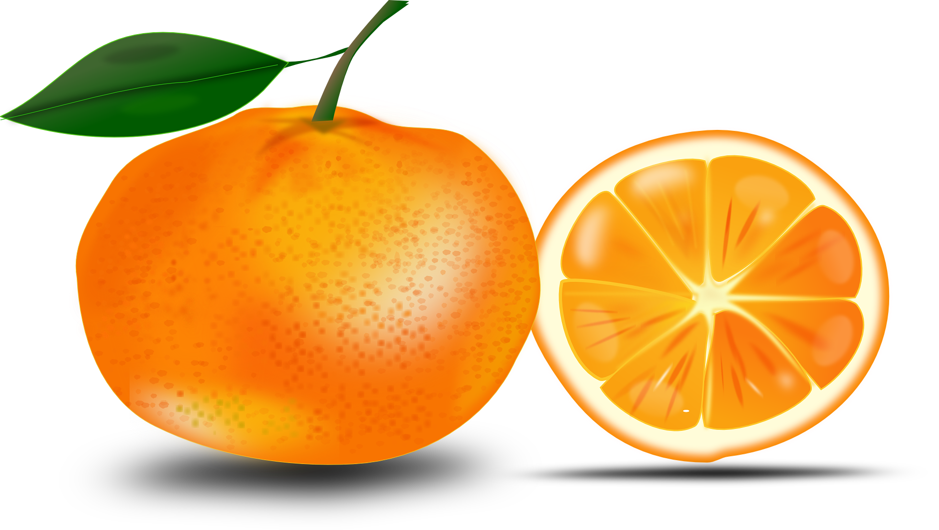How much Vitamin C in an orange ?, nutritional value