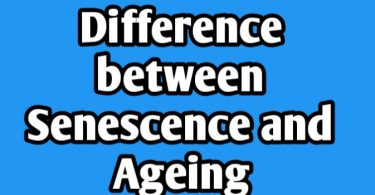 Differences between Senescence and Ageing